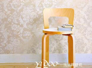 异度壁纸 环保无纺布 奢华大气欧式田园大花 客厅 我是满铺墙纸,壁纸/墙纸,