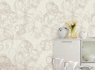 爱己如风 韩国原装卧室电视客厅抽象唯美墙纸G20环保材质,壁纸/墙纸,