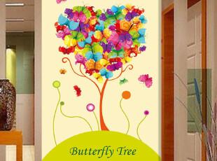家乐美墙纸 壁画温馨卧室 墙布 过道玄关壁纸田园风格 幸福树A256,壁纸/墙纸,