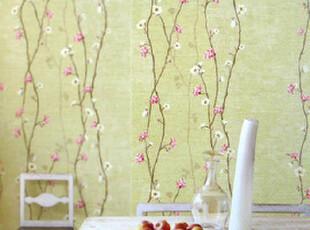 爱己如风 韩国进口小清新自然客厅卧室装修墙纸F3【16.5平方,壁纸/墙纸,