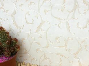 壁姥爷墙纸|简欧质感雕花壁纸 客厅卧室满铺 小良莨苕叶特价|6108,壁纸/墙纸,