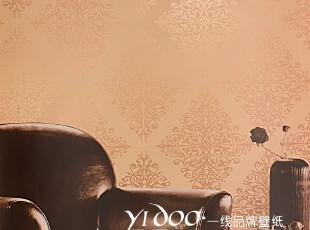 异度壁纸 特价墙纸 欧式超大气菱形大马士革墙纸 卧室客厅满铺,壁纸/墙纸,