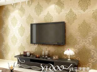 异度壁纸 特价洒金无纺布墙纸 奢华烫金卧室客厅电视背景墙纸,壁纸/墙纸,