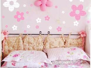 正品依依相恋DIY时尚墙贴 PVC创意家居装饰画墙纸壁纸 公主花,壁纸/墙纸,