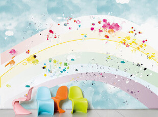 Rainbow - Domestic 墙纸壁纸(全球限量100卷),壁纸/墙纸,