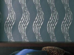 全球购特价进口日本丽彩墙纸代购 现代波浪条纹 背景墙 卧室 客厅,壁纸/墙纸,