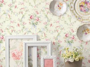 海宝先生 布鲁斯特墙纸HFCD-70202繁花簇锦 浪漫田园.纯纸壁纸,壁纸/墙纸,