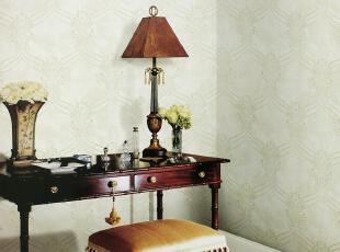 海宝先生 美国里斯戴尔墙纸MDSS-030大马士革 纯纸壁纸客厅满铺,壁纸/墙纸,