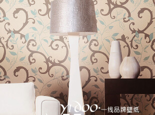 异度壁纸 特价环保无纺布墙纸 透气无纺布壁纸 素雅暗花背景墙纸,壁纸/墙纸,