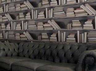 英国产书架壁纸Bookshelf,壁纸/墙纸,