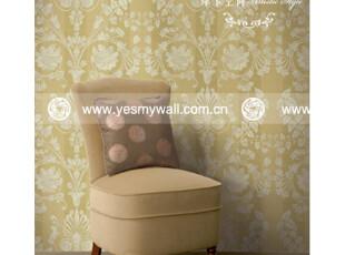 摩卡空间 卧室壁纸 美国进口墙纸 立体浮雕花纹 欧式新古典083,壁纸/墙纸,