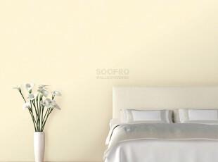 韩国进口壁纸/大卷PVC满铺墙纸/凹凸质感/米色暗花纹客厅卧室书房,壁纸/墙纸,