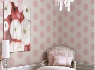 韩国正品纯纸壁纸 浪漫花朵客厅卧室背景墙纸  有白色粉色大红色,壁纸/墙纸,