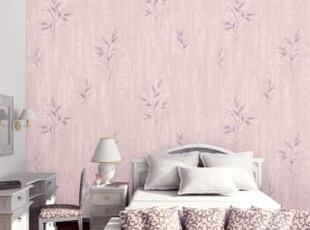 韩国原装淡色素雅温馨卧室背景小清新壁纸J451【16.5平方,壁纸/墙纸,