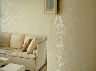 德尔菲诺墙纸001 卧室壁纸 客厅沙发电视背景墙 简欧式现货特价T,壁纸/墙纸,