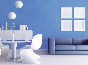 地中海纯色蓝色-韩国正品纯纸-客厅书房卧室大面积满铺墙纸壁纸,壁纸/墙纸,