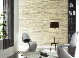 复古立体文化石-韩国进口PVC大卷仿真砖纹客厅沙发书房背景墙纸,壁纸/墙纸,