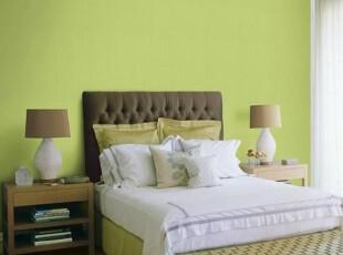 冬青新绿*韩国进口纯色满铺壁纸*餐厅卧室客厅绿色粉色米白色墙纸,壁纸/墙纸,