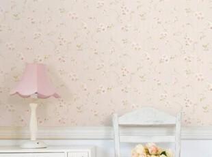 实物图韩国代购特价粉红色田园浪漫碎花壁纸客厅沙发卧室背景墙纸,壁纸/墙纸,