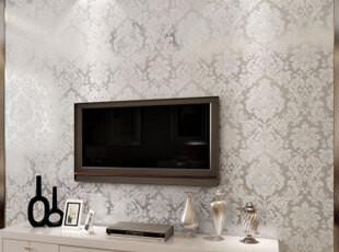 纸尚美学 无纺布墙纸 欧式大马士革客厅卧室ca77 BN25601壁纸,壁纸/墙纸,