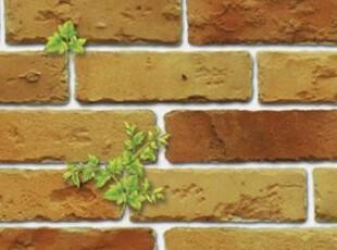 田园砖头砖纹 韩国纯纸大卷壁纸客厅走道玄关阳台书房背景墙纸,壁纸/墙纸,