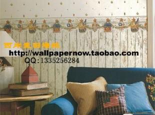 【西岸麦田墙纸】Chesapeake壁纸美式乡村|厨房|卧室|客厅5,壁纸/墙纸,