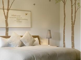 【Asa room】韩国进口代购壁贴 田园梦的树林卧室DIY墙纸墙贴a302,壁纸/墙纸,