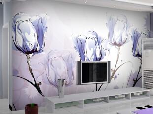 米素大型壁画 电视墙背景墙壁纸客厅墙纸 简约影视墙特价 奔放,壁纸/墙纸,