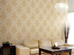 尊贵奢华欧式浪漫/韩国进口PVC大马士革客厅卧室沙发背景墙纸壁纸,壁纸/墙纸,