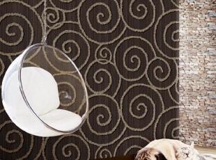 韩国PVC壁纸/客厅沙发卧室墙纸/高贵祥云新古典风格/白色米黄咖啡,壁纸/墙纸,