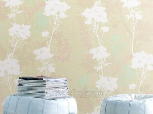 米黄艺术壁纸/韩国进口自粘贴即时贴背景墙纸冰箱贴橱柜翻新贴,壁纸/墙纸,
