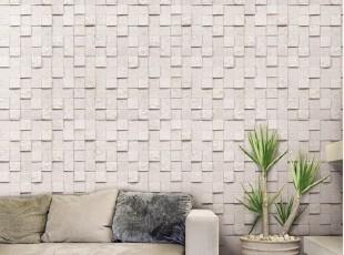 韩国进口自粘壁纸即时贴沙发背景墙贴翻新贴-仿真砖纹-欧式简约,壁纸/墙纸,
