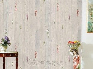 怀旧木纹韩国进口自粘壁纸家具贴即时贴背景墙纸冰箱贴橱柜翻新贴,壁纸/墙纸,