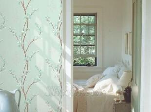 韩国-浪漫樱花-自粘壁纸家具贴即时贴背景墙纸冰箱贴橱柜翻新贴,壁纸/墙纸,