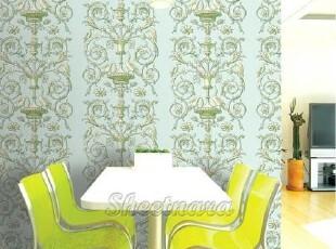 韩国进口自粘即时贴客厅卧室沙发电视背景墙纸家具翻新贴金碧辉煌,壁纸/墙纸,