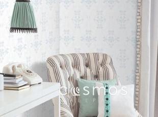 浅蓝欧式宜家.韩国进口纯纸.简洁时尚壁纸客厅沙发卧室背景墙纸,壁纸/墙纸,