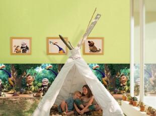 韩国进口16.5大卷PVC特价壁纸儿童房纯色绿色卧室客厅满铺墙纸,壁纸/墙纸,