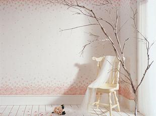 德尔菲诺特价 韩国浪漫 田园 樱花满铺壁纸 卧室客厅儿童房墙纸T,壁纸/墙纸,