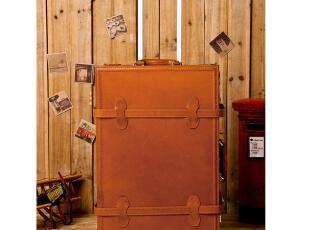 lulu熊猪皮复古箱 拉杆箱 旅行箱 行李箱 结婚箱 登机箱 手工箱,婚庆,