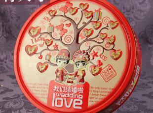 婚庆用品 结婚喜糖盒欧式 创意马口铁盒特大号喜糖盒子 批发,婚庆,