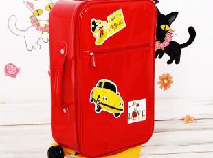 9折包邮 可爱韩国皮箱旅行拉杆箱结婚行李箱子 女士登机箱 送箱贴,婚庆,