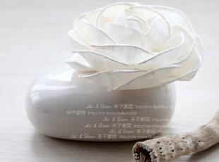 家居装饰品 节日婚庆礼品香薰摆件陶瓷茶花香薰,婚庆,