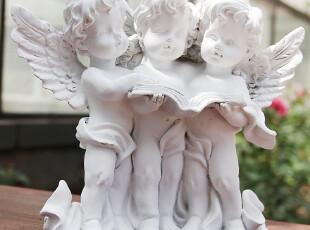 3个天使家居装饰品 小天使摆件 工艺品摆设 结婚新房礼物,婚庆,