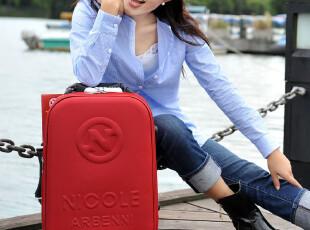 可爱韩国拉杆旅行箱 18寸牛津布登机箱包 特价 大红色结婚软箱,婚庆,