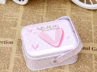 小手提喜糖盒 喜烟盒 长方马口铁盒 婚庆 庆生满月礼盒小号-多款,婚庆,