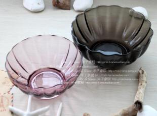 创意家具餐桌装饰果蔬器皿糖果水果碗 婚庆礼品贝壳玻璃碗两件套,婚庆,