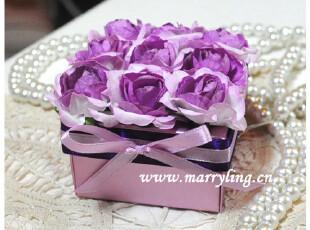 久久-紫@成品盒/喜糖盒/结婚用品/礼盒 Marry Ling 婚艺,婚庆,