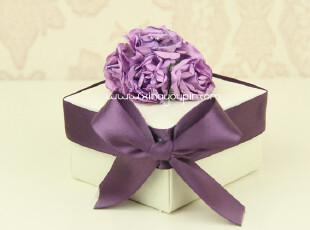 喜纳优品@紫爱婚礼手工制作喜糖盒 喜糖包装 婚品 婚庆 回礼,婚庆,