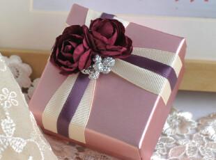 结婚喜糖盒 喜糖礼盒 个性欧式喜糖盒子 婚庆婚礼 紫色喜糖盒A20,婚庆,