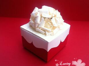 婚庆用品  日本原浆纸 花开富贵 欧式个性 创意 喜糖盒 FHH06,婚庆,